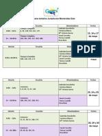Cronograma tentativo jurisdicción Montevideo Este