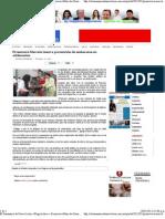 10-05-12 Promoverá Marcela Guerra prevención de embarazos en adolecentes