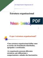 Robbins - Fundamentos da Estrutura Organizacional