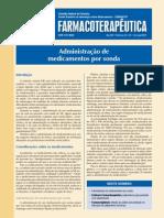 ADMINISTRAÇÃO DE MEDICAMENTOS POR SONDA - CFF