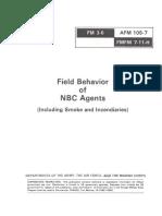 FM 3-6.Field Behavior of NBC Agents Nov 1986