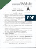 (Www.entrance-exam.net)-NDA and Naval Academy, GAT Sample Paper 3