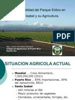 Incompatibilidad Del Parque Eolico de SI y Su Agricultura