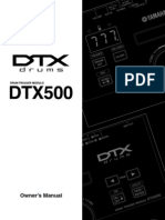 DTX500 Drum Trigger Module Owners Manual