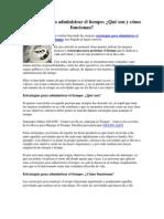 Estrategias para administrar el tiempo.pdf