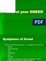 Control Your GREED