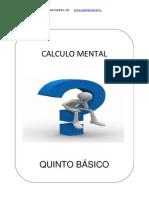 EJERCITACION CALCULO MENTAL 5º BASICO