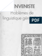 34- Problemes de Linguistique Generale t1 t2 Benveniste