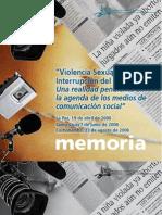 """Memoria - """"Violencia Sexual e Interrupción del Embarazo, una realidad pendiente en la agenda de los medios de comunicación social"""" - Ipas Bolivia"""