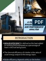 Boiler Efficiency-An Analysis