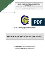 """58 Ejercicios della Scuola di Calcio del Rosario Central per la categoria """"Allievi 1993"""""""