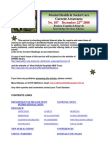 Mental Health Bulletin No  187 22nd December 2008