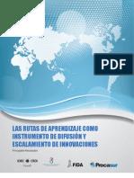 Las Rutas de Aprendizaje como Instrumento de Difusión y Escalonamiento de Innovaciones