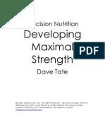 22068017 Dave Tate Maximal Strength