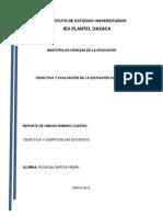 D. COMPETENCIAS DOCENTES