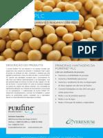 Purifine PLC Verenium