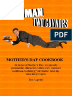 One Man, Two Guvnors Mother's Day Cookbook