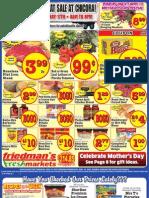 Friedman's Freshmarkets - Weekly Ad - May 10 - 16, 2012