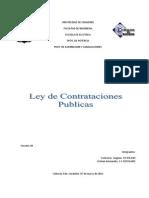 LEY DE CONTRATACIONES PÚBLICAS (1)