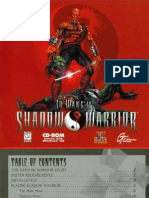 Shadow.warrior Manual