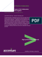Accenture Ingredients of Effective Collaboration
