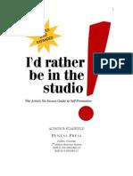 Artist Self Promotion Book