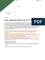 Root Para Galaxy Gerencia Gt-p7300