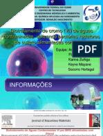 Biotratamento de cromo (VI) de águas