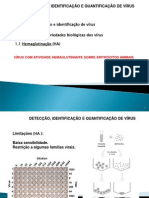 Métodos de detecção e identificação de vírus II