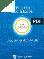 Debate Ley Documento Base