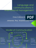 Language and Communications in International Business