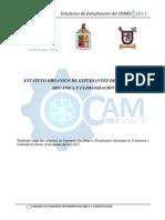 Estatuto 2011 CAM