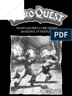 Heroquest - Adventure Design Kit - ITALIAN