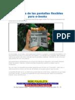 Pantallas Flexibles Para E-books 2012
