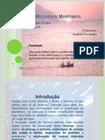 Os Recursos Marítimos Webquest