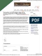 10-05-12 Demandan a la PGR indagar origen de los recursos asegurados a Villarreal Hernández