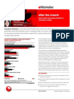 eMarketer After the Crunch-How Credit Card Issuers Market to Consumers Online