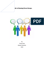Guide to Running Focus Groups