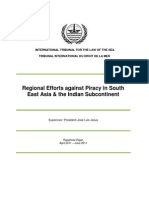 Research Paper - Rajashree Rajan - Regional Efforts Against Piracy in Southeast Asia and the Indian Subcontinent