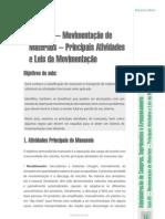 Movimentação de materiais - principais atividades e leis da movimentação