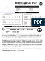 05.10.12 Mariners Minor League Report