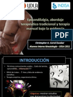 Epicondilalgia Lateral