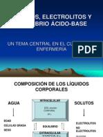 LIQUIDOS, ELECTROLITOS Y EQUILIBRIO ÁCIDO-BASE ro