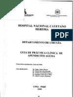 Apendicitis PDF Peru