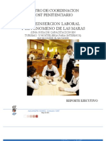 Reinsercion Laboral, Capacitacion de Internos
