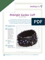 Midnight Garden Cuff