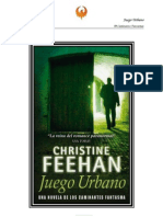 Christine Feehan - Serie Cam in Antes Fantasmas 08 - Juego Urbano