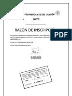 REGISTRO DE NOMBRAMIENTO (REGISTRO MERCANTIL)
