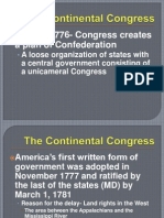 Chapter 5-Continental Congress and the Articles of Confederation