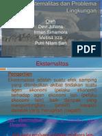 Eksternalitas Dan Problema Lingkungan Ppt